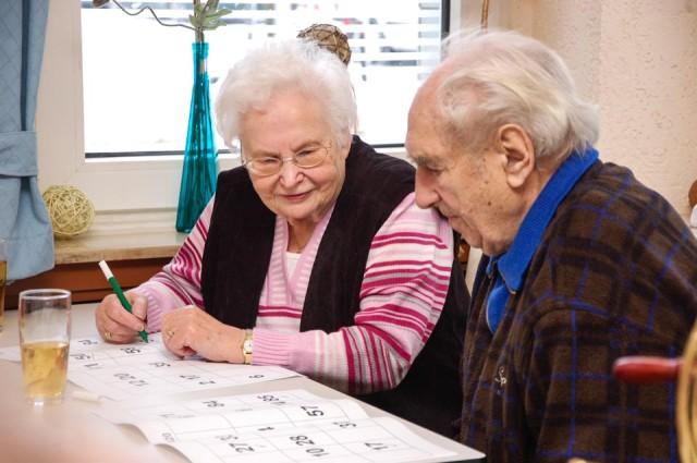 Bingo-Spiel im Martinustreff (Foto: SMMP/Bock)