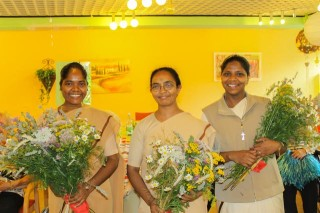 Wir gratulieren die Indischen Schwestern zur bestandenen Deutsch-Prüfung (Foto:S. Kelm)