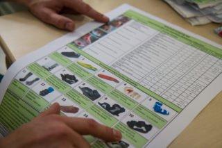 Riesig ist die Auswahl an Spezialschuhen für Patienten mit einem Diabetischen Fuß. Foto: SMMP/Ulrich Bock