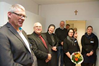 """Wilfried Weeke gehört der letzte Satz des offiziellen Aktes: """"Das Buffet ist eröffnet."""" Foto: SMMP/Bock"""