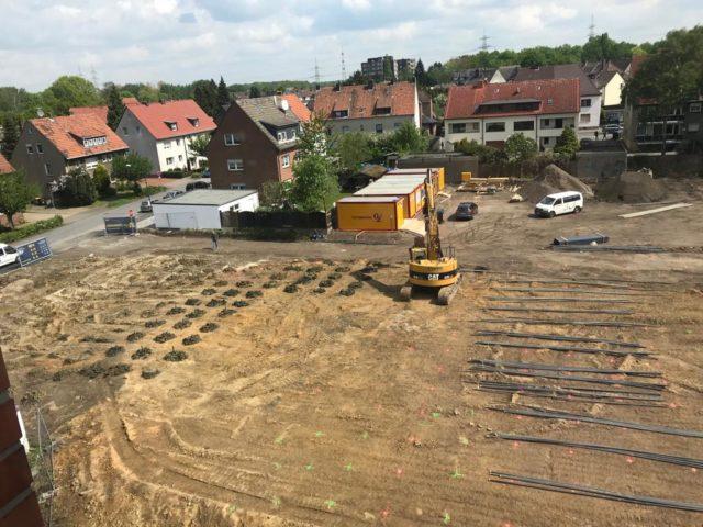 Probebohrungen im Baugrund des neuen Hauses St. Martin. (Foto: Lüdtke/Martinus)