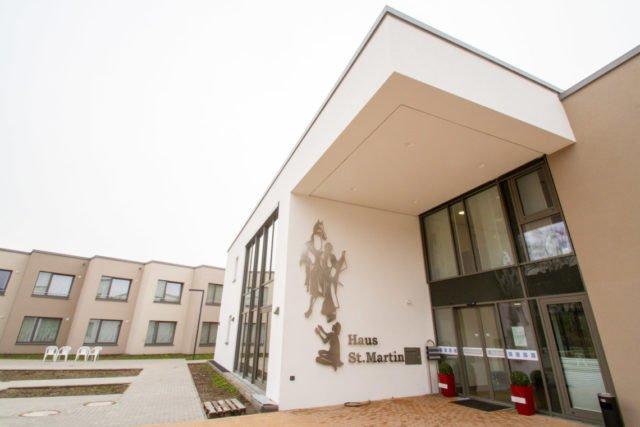 Das neue Haus St. Martin an der Goethe-Straße in Herten-Westerholt wurde vor 100 Tagen im Dezember bezogen. In den nächsten Wochen werden noch die Außenanlagen und der Garte angelegt. Foto: SMMP/Ulrich Bock
